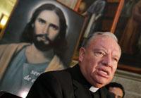 El cardenal Juan Sandoval Íñiguez. Foto: Refugio Ruíz