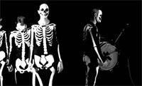 Una interpretación de la danza de la muerte.