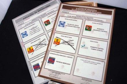 Boletas electorales 2006. Historia sin final. Foto: Demián Chávez