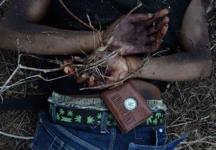 A cinco años de la guerra contra el narco. 21 de febrero de 2011, cadáver hallado en Acapulco. Foto: AP