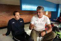 Sánchez y Rueda. Apoyo oficial. Foto: Benjamin Flores