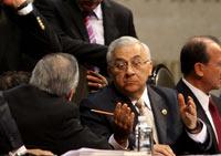 Emilio Chuayffet, secretario de Educación Pública. Foto: Germán Canseco