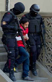 """Baltazar Saucedo Estrada, alias """"El Mataperros"""". Foto: AP"""