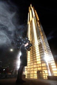 Estela de Luz. Monumento a la corrupción. Foto: Germán Canseco