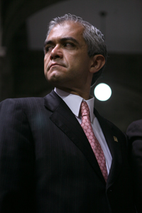 El jefe de Gobierno del DF.Miguel Ángel Mancera. Foto: Octavio Gómez
