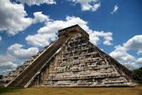 La piramide de Chichen Itzá. Foto: Alejandro Saldívar