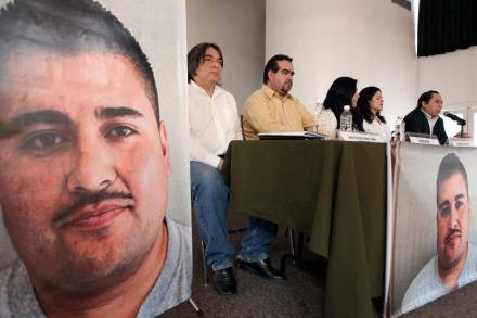 Exige ONU liberación de inculpado en matanza de Villas de Salvárcar. Foto: Octavio Gómez