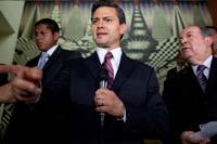 El aspirante presidencial priista, Enrique Peña Nieto. Foto: Octavio Gómez