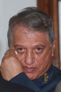 Mario Arturo Acosta Chaparro, general en retiro. Foto: Octavio Gómez