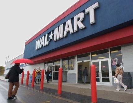 Una sucursal de la cadena de autoservicio WalMart. Foto: AP