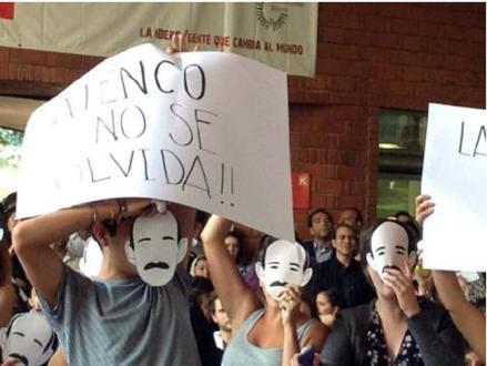 La recepción de EPN en la Ibero. Foto: Tomada de Twitter