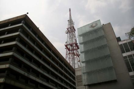 Las instalaciones de Televisa Chapultepec. Foto: Alejandro Saldívar