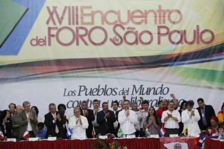 XVIII Encuentro del Foro de Sao Paulo. Foto: Gobierno de Venezuela
