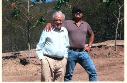 El insólito encuentro entre Scherer García y EL Mayo Zambada. Foto: Especial