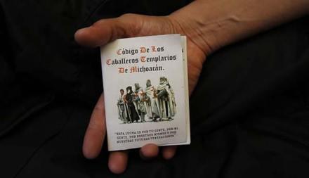 El Código de los Caballeros Templarios. Foto: AP