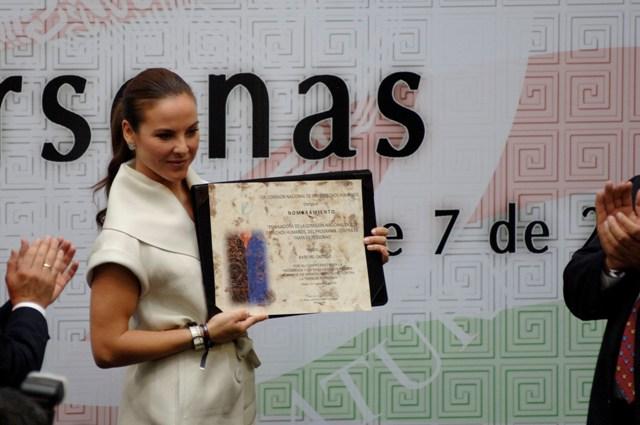 La actriz Kate del Castillo. foto: Miguel Dimayuga