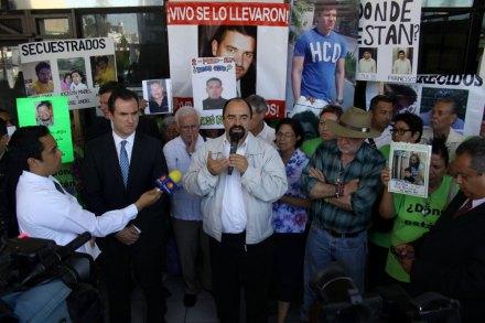 Se reúne Movimiento por la Paz con el procurador de N.L. Foto: Víctor Hugo Valdivia