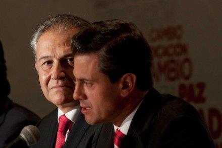 Óscar Naranjo, asesor en materia de seguridad de EPN. Foto: Eduardo Miranda