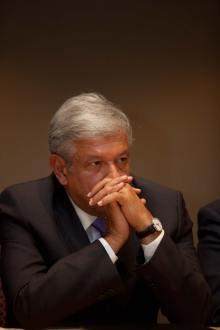 El exaspirante presidencial de izquierda, Andrés Manuel López Obrador. Foto: Miguel Dimayuga