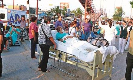 Hospital en Torreón. Amenaza cumplida. Foto: vanguardia.com.mx