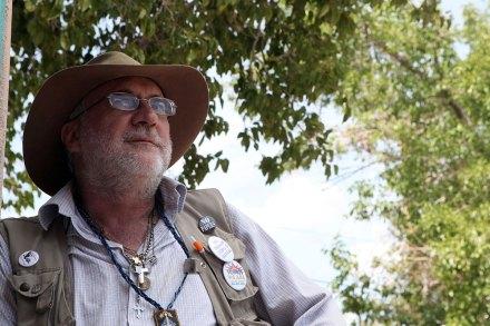 El poeta Javier Sicilia.Foto: Germán Canseco