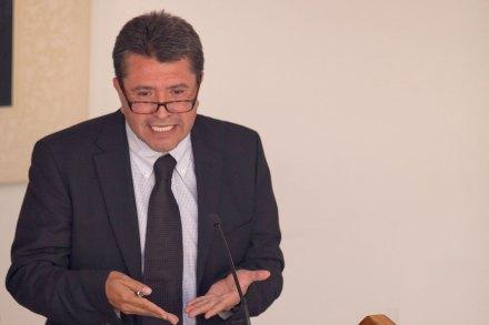 Ricardo Monreal, excoordinador de campaña de AMLO. Foto: Miguel Dimayuga