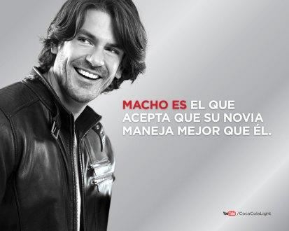 Uno de los anuncios de Coca Cola Light. Foto: Coca Cola