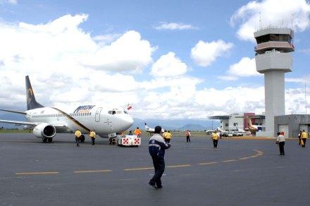 Una imagen tomada en 2006 del aeropuerto de Toluca. Foto: Benjamin Flores
