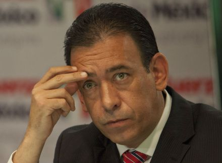 Humberto Moreira, exgobernador de Coahuila. Foto: Miguel Dimayuga.
