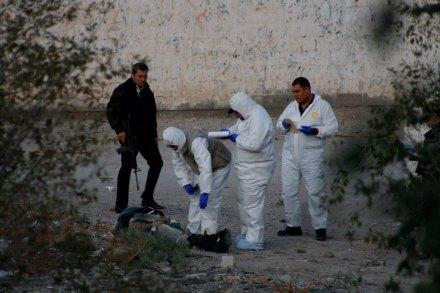 El hallazgo de un cadáver en Ciudad Juárez en noviembre de 2012. Foto: Ricardo Ruíz