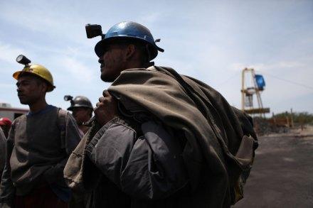 Mineros en Coahuila. Foto: Eduardo Miranda