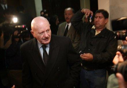 Manuel Mondragón y Kalb, comisionado nacional de Seguridad Foto: Germán Canseco
