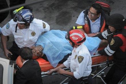 ...Su padre desató el tiroteo después de discutir con su esposa. Foto: Xinhua / Emiliano Guerrero