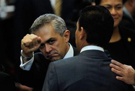 Miguel Ángel Mancera, titular del GDF. Foto: Xinhua / Ulises Bravo