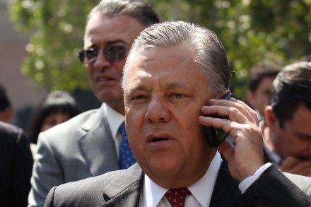 El exgobernador de Sinaloa, Jesús Aguilar Padilla. Foto: Eduardo Miranda