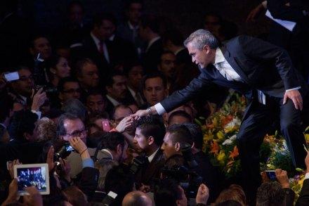 Miguel Ángel Mancera en el Auditorio Nacional. Foto: Octavio Gómez