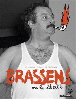 La portada del libro de Brassens.
