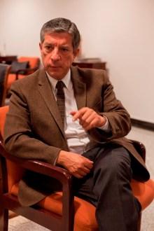 Sergio Raúl Arroyo, titular del INAH Foto: Miguel Dimayuga