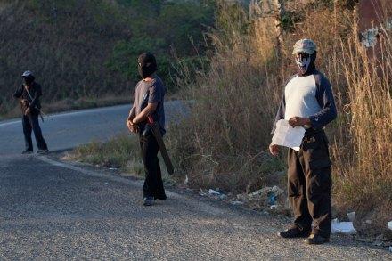 La autodefensa ciudadana en Costa Chica, Guerrero. Foto: Miguel Dimayuga