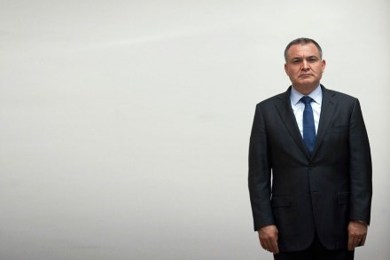 El extitular de la SSP, Genaro García Luna. Foto: Germán Canseco