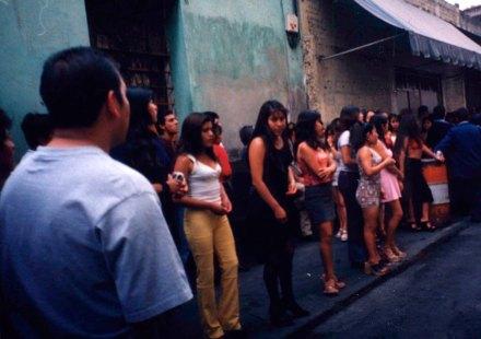 Sexoservidoras en la Merced. Foto: Germán Canseco