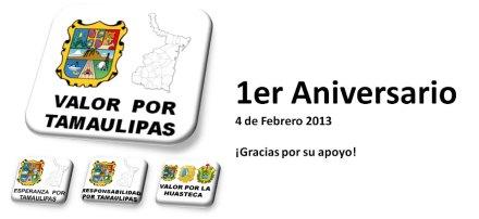 Una imagen en Facebook de Valor por Tamaulipas.