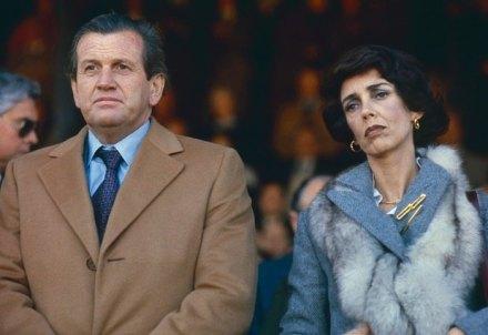 Jorge Zorreguieta y su esposa María del Carmen Cerruti, en una imagen tomada en 1979. Foto: AP