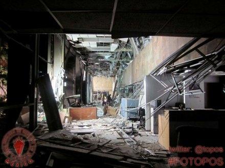 La tragedia de Pemex vista por los Topos. Foto: Tomada de Twitter