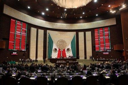 Sesión en el Palacio Legislativo de San Lázaro. Foto: Germán Canseco