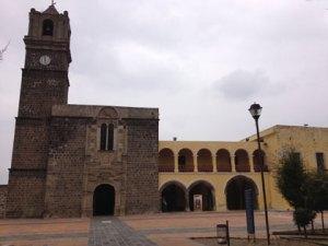 El monasterio franciscano de Calpan. Foto: Armando Gutiérrez