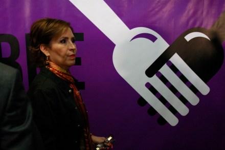 Rosario Robles, extitular de Sedesol. Foto: Hugo Cruz.