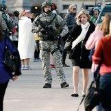 Explosiones en el maratón de Boston. Foto: AP