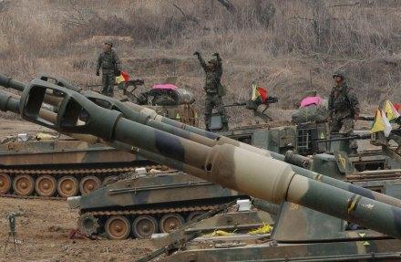 Crece tensión en Corea del Sur ante posible ataque de Kim Jong-un. Foto: AP