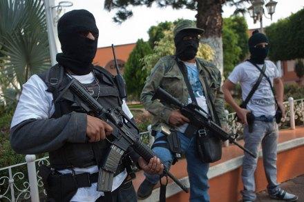 La autodefensa ciudadana en Michoacán. Foto: Octavio Gómez